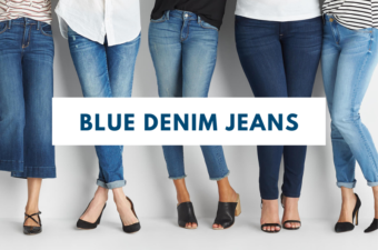 How to wear blue denim jeans in style